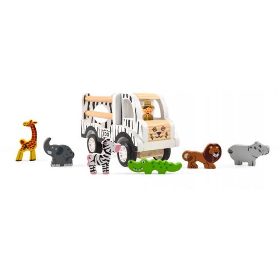 Fa állatszállító autó MAGNI ZOO Car