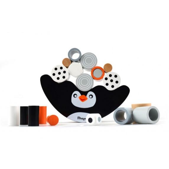 Egyensúlyozós fajáték pingvines MAGNI Balancing Game Penguin
