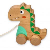 Húzható fajáték dinoszaurusz LELIN
