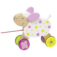 Húzható fajáték bárányka Suzie GOKI