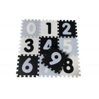 Habszivacs szőnyeg puzzle MAGNI - fekete, fehér, kék