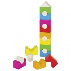 Fa építőkocka torony GOKI Stalcking Tower Előnézet