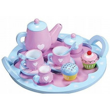 Fa teáskészlet LELIN Heart Tea Set Előnézet