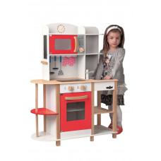 Fa játékkonyha Woodyland WENDY Big Red Kitchen Előnézet