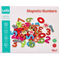 Mágneses fa számjegyek Lelin