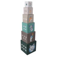 Toronyépítő kocka MAGNI Előnézet
