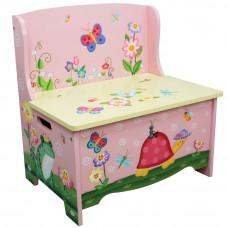 Gyerek pad játéktárolóval FANTASY FIELDS Magic Garden Előnézet