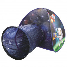 Gyereksátor alagúttal világűr BINO Tent with Tunnel Astronaut Előnézet