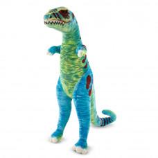 Színes plüss dinoszaurusz T-Rex álló 135 cm Melissa&Doug Előnézet