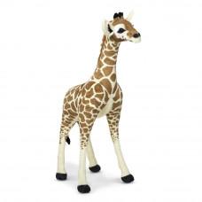 Plüss zsiráf álló 90 cm Mellissa&Doug STANDING BABY GIRAFFE Előnézet