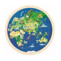 Puzzle kör térkép Goki
