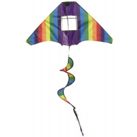 Papírsárkány IMEX Tail Twister Kite - Szivárványos