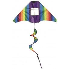 Papírsárkány IMEX Tail Twister Kite - Szivárványos Előnézet