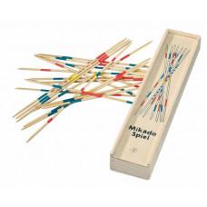 Mikádó társasjáték fa dobozban 31 darabos WOODYLAND Előnézet