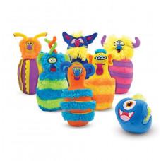 Szörnyecskés játék bowling teke készlet MELISSA&DOUG Monster Bowling Előnézet
