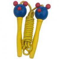 Ugrálókötél Woodyland Skipping Rope MOUSE - Sárga