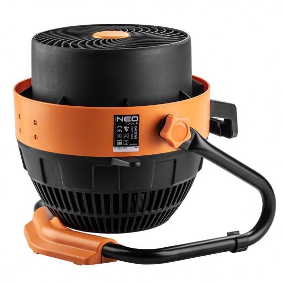 NEO TOOLS hősugárzó és ventilátor manuális vezérléssel 90-070 2,4 KW