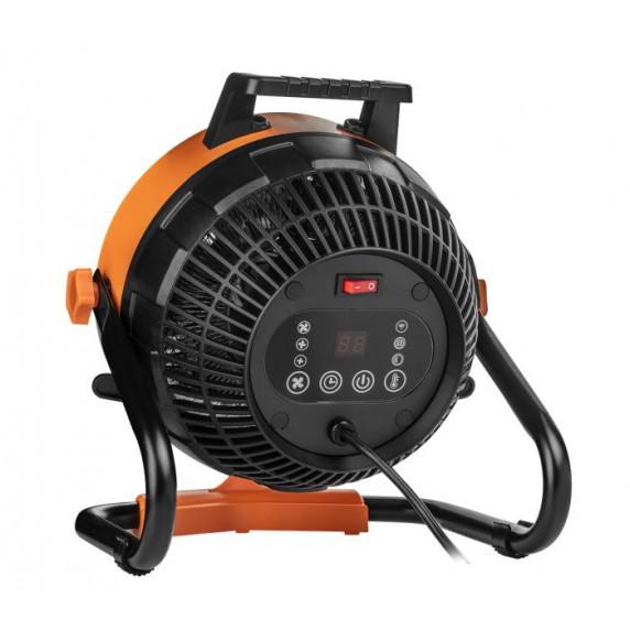 NEO TOOLS hősugárzó és ventilátor digitális vezérlővel 90-071 2,4 KW
