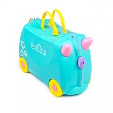 TRUNKI gurulós gyerek bőrönd - Unikornis Előnézet