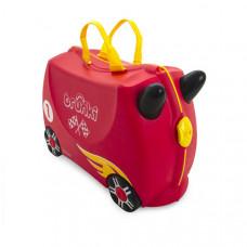 TRUNKI gurulós gyerek bőrönd - Versenyautó Előnézet