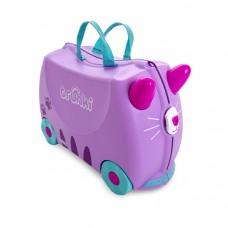 TRUNKI gurulós gyerek bőrönd - Cassey macska Előnézet