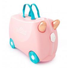 TRUNKI gurulós gyerek bőrönd - Flossi Előnézet