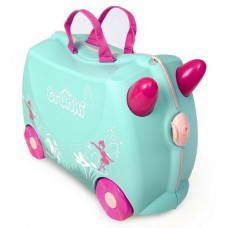 TRUNKI gurulós gyerek bőrönd - Flora Előnézet