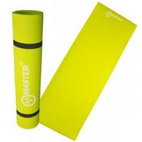 Jógamatrac 4 mm 173x60 cm MASTER Yoga EVA - zöld