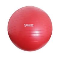 Gimnasztikai labda 75 cm MASTER Super Ball - piros