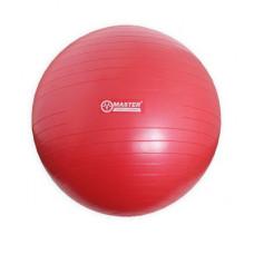 Gimnasztikai labda 75 cm MASTER Super Ball - piros Előnézet