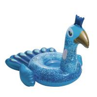 Felfújható gumimatrac BESTWAY Pretty Peacock - kék páva