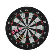 MASTER Flocking 45 cm szizál darts tábla - kétoldalú Előnézet