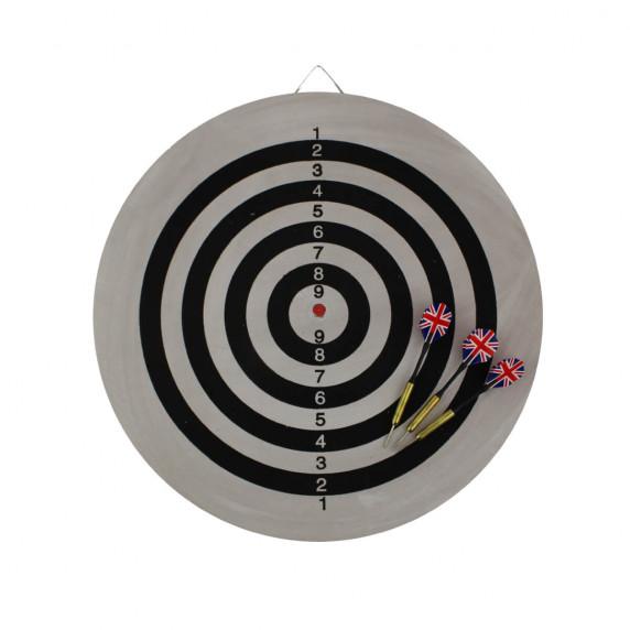 MASTER Flocking 45 cm szizál darts tábla - kétoldalú