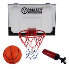 Kosárlabda palánk 45x30 cm MASTER Előnézet