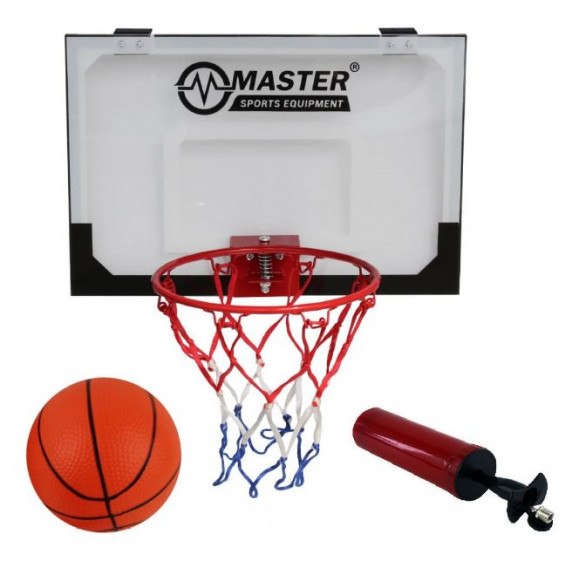 Kosárlabda palánk 45x30 cm MASTER