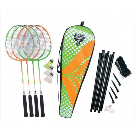 Badminton szett TALBOT TORRO 4 Attacker Plus