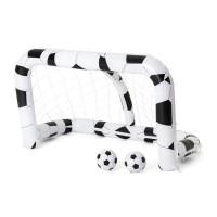 Felfújható focikapu két labdávlal BESTWAY 213 x 117 x 125 cm