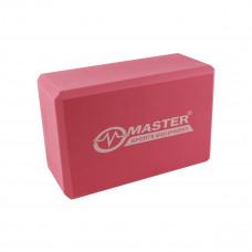 Jógatégla MASTER Yoga Block 23x15x10 cm Előnézet