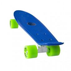 """MASTER Penny Board műanyag gördeszka 22"""" - Kék Előnézet"""