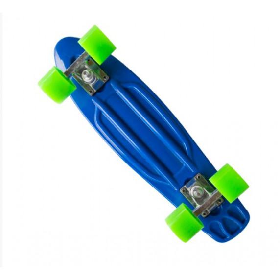 """Műanyag gördeszka MASTER Penny Board 22"""" - Kék"""