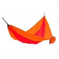 KING CAMP Parachute függőágy 270x130 cm - piros/narancssárga