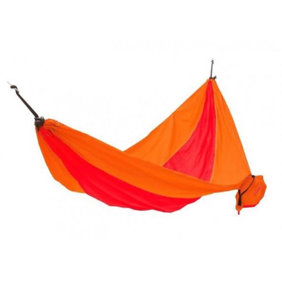 Függőágy KING CAMP Parachute 270x130 cm - piros/narancssárga