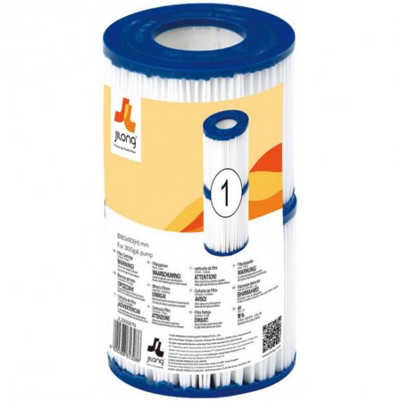 Szűrőbetét papírszűrős vízforgatóhoz JILONG 1,136 l/h