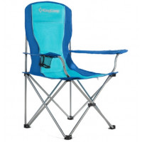 Kemping szék KING CAMP - Kék