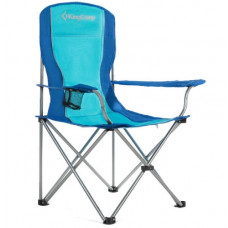 Kemping szék KING CAMP - Kék Előnézet