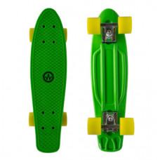 """MASTER Penny Board műanyag gördeszka 22"""" - Zöld Előnézet"""