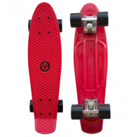 "MASTER Penny Board műanyag gördeszka 22"" - Piros"