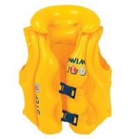Felfújható mentőmellény gyerekeknek JILONG 46X42 cm - sárga