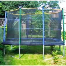 MASTERJUMP védőháló négyszögletes trambulinra 300x210 cm  Előnézet