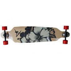 SPARTAN Surf Black Longboard gördeszka Előnézet